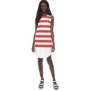 Jacquemus Iconic French Striped Shirt Dress